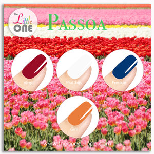 The One Gellak - Color Set Passoa - LED/UV - 7ml