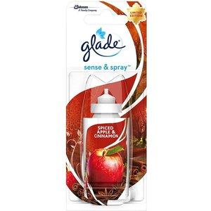 Glade Sense & Spray NAVULLING voor luchtverfrisser met geur Spiced Apple & kaneel