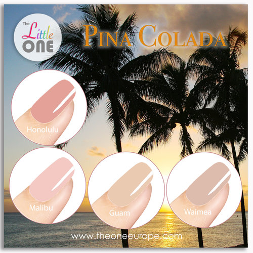 The One Pina Colada Color Set LED/UV Gellak 7ml