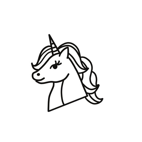 Avrea Unicorn koekjes vorm