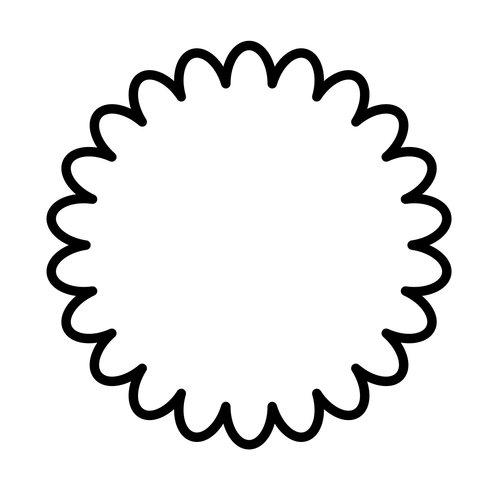 Bloem koekjes vorm