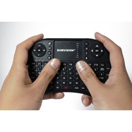 Sumvision Nico draadloos toetsenbord + muis multimedia touchpad