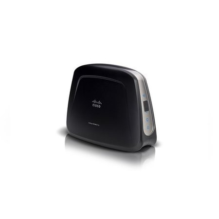 Linksys Wireless-AC universele mediaconnector voor het streamen van 3D- en HD-media WUMC710-EU