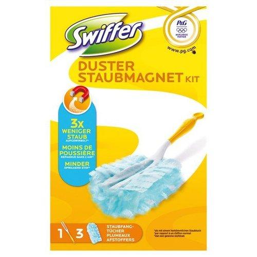 Swiffer Duster Stofdoekjes - Starterkit + 3 navullingen