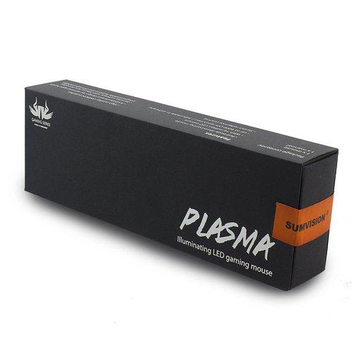 Sumvision Sumvision PLASMA goud gekleurde Illuminating LED gaming muis - USB