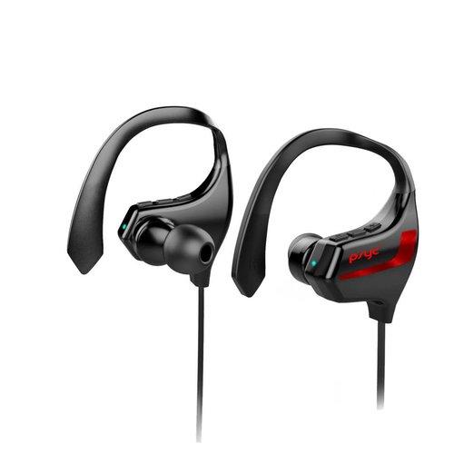 PSYC Esprit Bluetooth Sport headset - Draadloos Oortelefoon/ Koptelefoon / Oordopjes / Oortjes / Hoofdtelefoon / Headphones - Geschikt voor Hardloop & Sport - Waterbestendig - Zwart