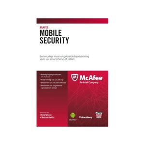 McAfee McAfee Mobile Security - Nederlands