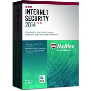McAfee Internet Security 2014 for Mac 1 User nl-NL