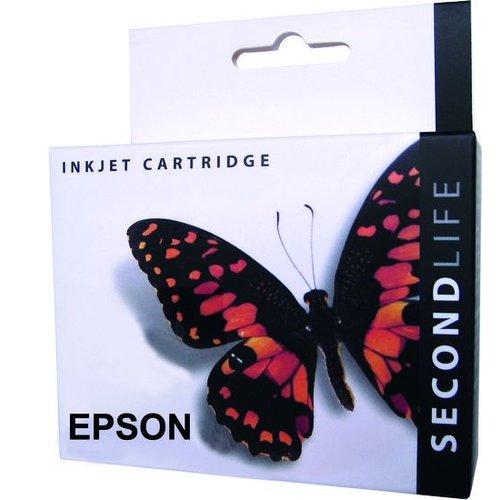 Secondlife SecondLife vervangende inkt cartridge zwart voor Epson T1291