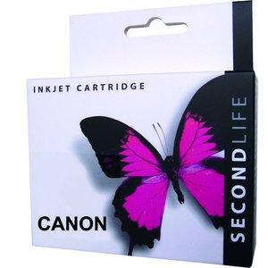 Secondlife SecondLife vervangende inkt cartridge zwart voor Canon CLI-526BK