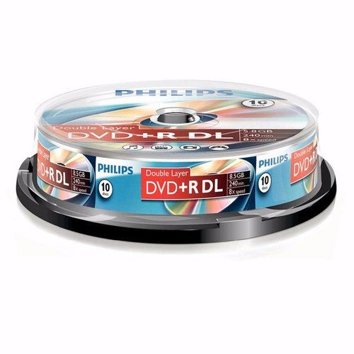 Philips Philips DVD+R DL DR8S8B10F