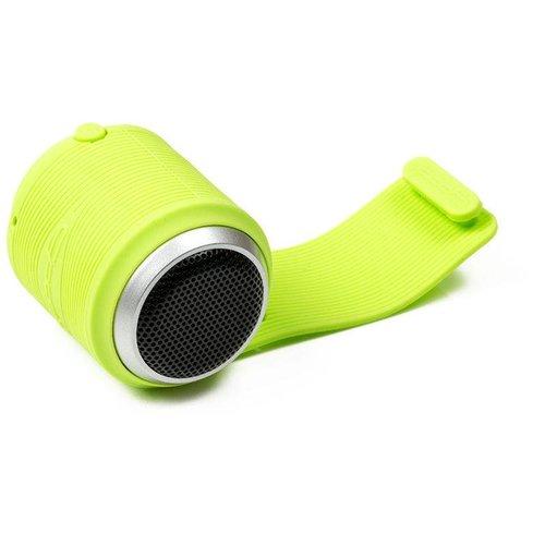 Opro9 Booma2 Micro draadloze speaker bluetooth, telefoonstand, groen
