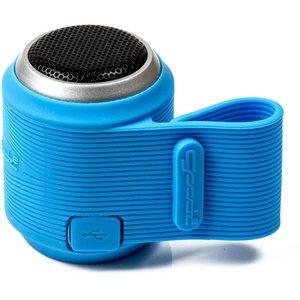 Opro9 Booma2 Micro draadloze speaker bluetooth, telefoonstand, blauw