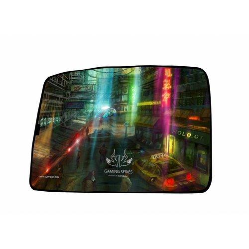 Sumvision Nemesis Gaming Mousepad muismat Neon, Waterproof, Anti Slip voor PC Windows Apple IOS