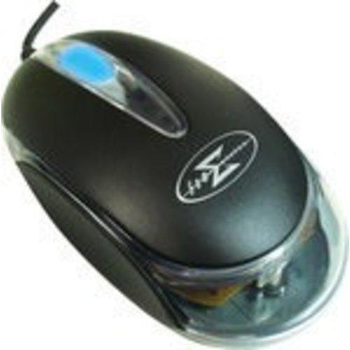 Sumvision SV04-L37 optische muis met neon lichtgevende scrollwiel en USB aansluiting