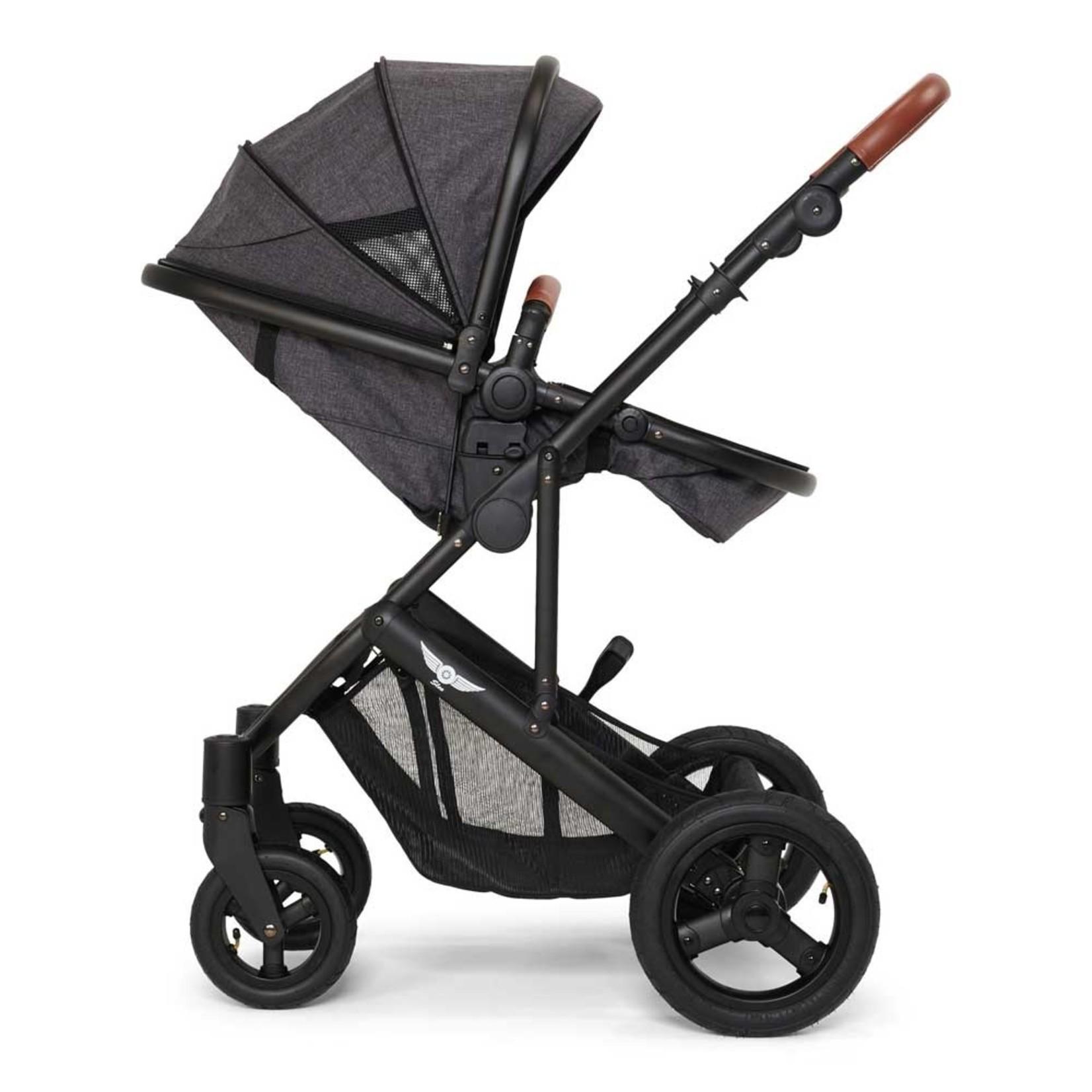 Sleeworld Slee Mobile Kinderwagen   Grey gemêleerd