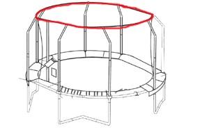 Bâton G4 supérieur du JumpPOD Oval 520