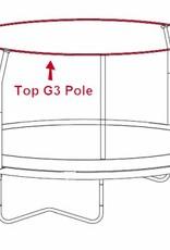 Bâton G3 supérieur du JumpPOD Classic/Deluxe 430