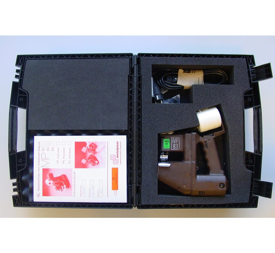 Industrial case for the hand sewing machine