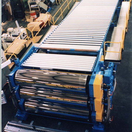 Guided Rolls for Roll Materials
