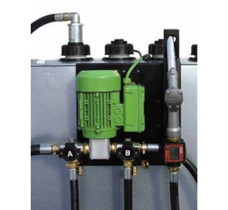 Oil pumps for heating-, vegetable-, lubricant or engine oil
