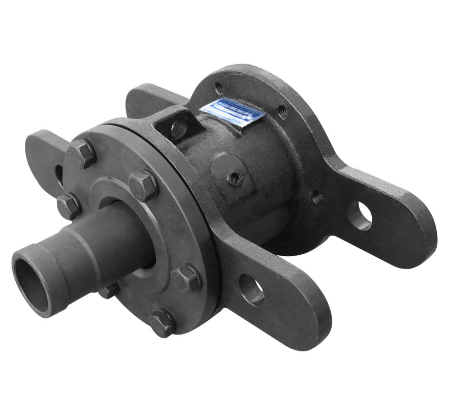 Rotary joint for steam