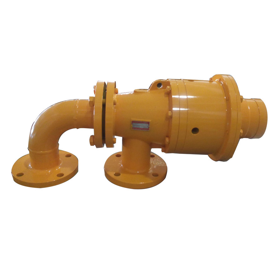 Rotary joint for thermal oil
