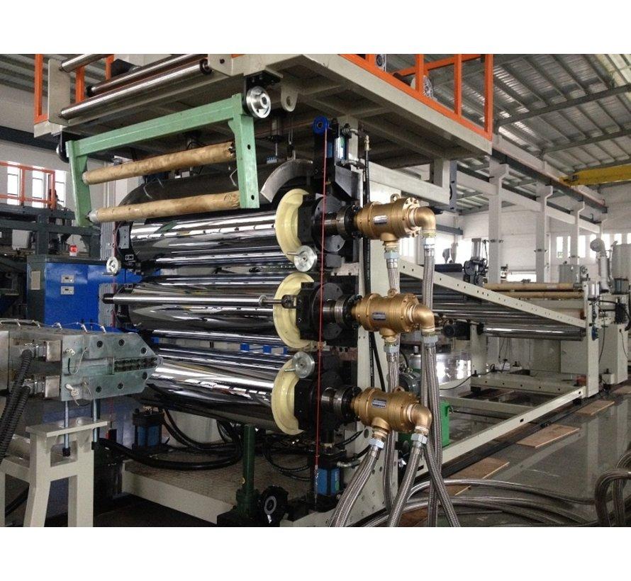 Roterende koppeling voor thermische olie