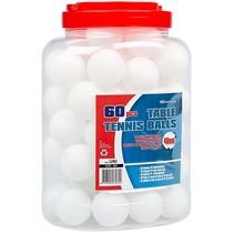Get & Go Tafeltennisballen in pot 60 stuks