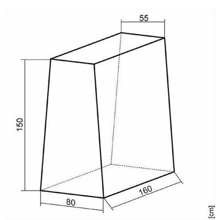 Sponeta Sponeta Afdekhoes tafeltennistafel
