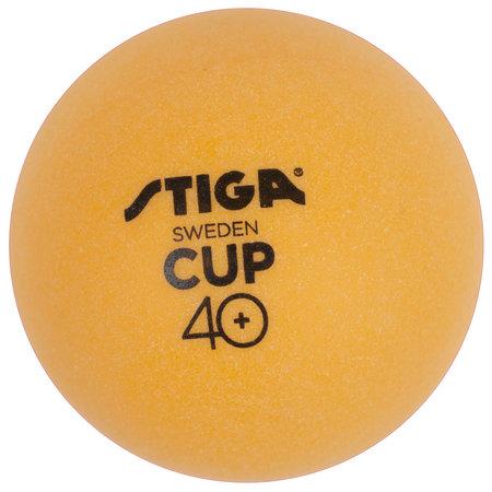 Stiga Stiga tafeltennisballen Cup 40 oranje 6 stuks