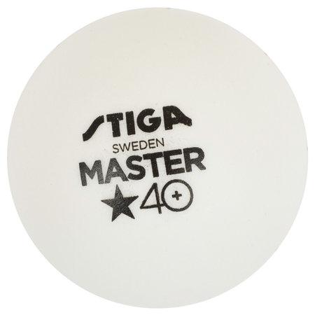 Stiga Stiga tafeltennisballen Cup 40 ABS duo pack wit 12 stuks