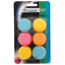 Donic Schildkröt tafeltennisballen multicolor 6 stuks