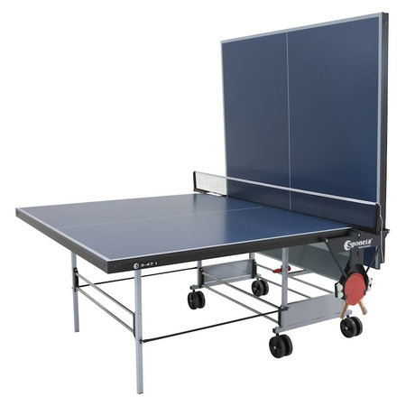Sponeta Sponeta tafeltennistafel S 3-47 i indoor spaanplaat blauw