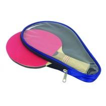 Tunturi tafeltennis-bathoesje blauw/transparant