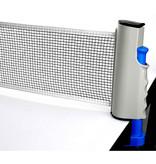 Fox TT Fox TT tafeltennisnet draagbaar 160 cm katoen wit/blauw