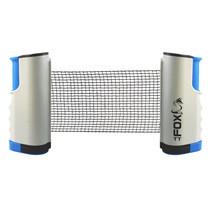 Fox TT tafeltennisnet draagbaar 160 cm katoen wit/blauw