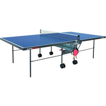 Stiga tafeltennistafel indoor Action Roller 274 cm blauw