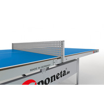 Sponeta tafeltennisnet Metallnetz 160 x 16 cm staal grijs