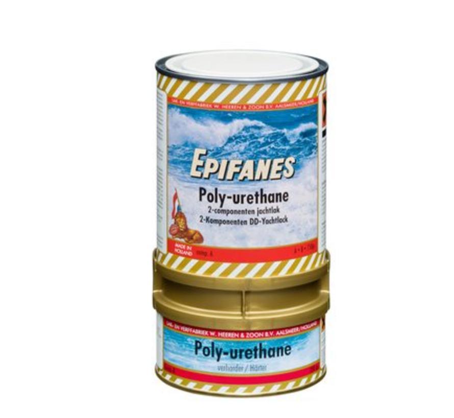 Epifanes Poly-urethane Jachtlak Hoogglans Blank(0,75 en 3 kilo)
