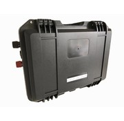 Draagbare Lithium powerbox accu 50 of 100 Ampère