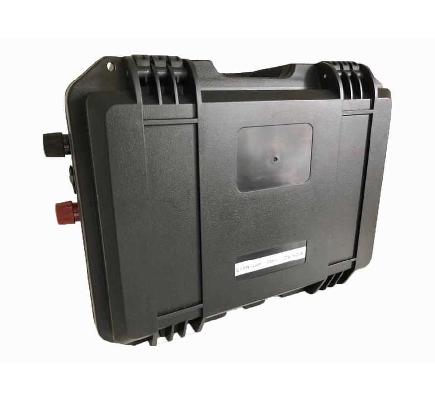 Draagbare Lithium powerbox 50 of 100 Ampère