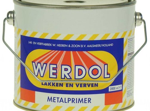 Werdol Metalprimer (0,75, 2 of 4 liter)
