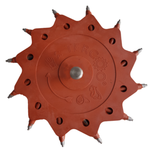 Roterende Straler - Single Disc (1 schrijf)
