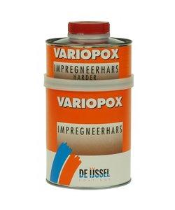 Variopox Impregneerhars 0,75, 7,5 of 60 kg