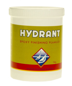 Epoxy finishing plamuur