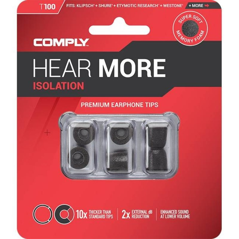 Comply Foam Comply Isolation T-Series