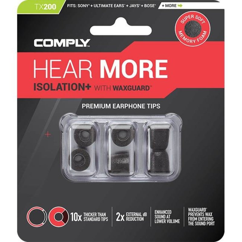 Comply Foam  Isolation Plus Tx-Series