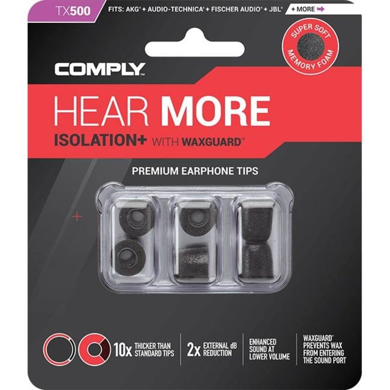 Comply Foam Comply Isolation Plus Tx-Series