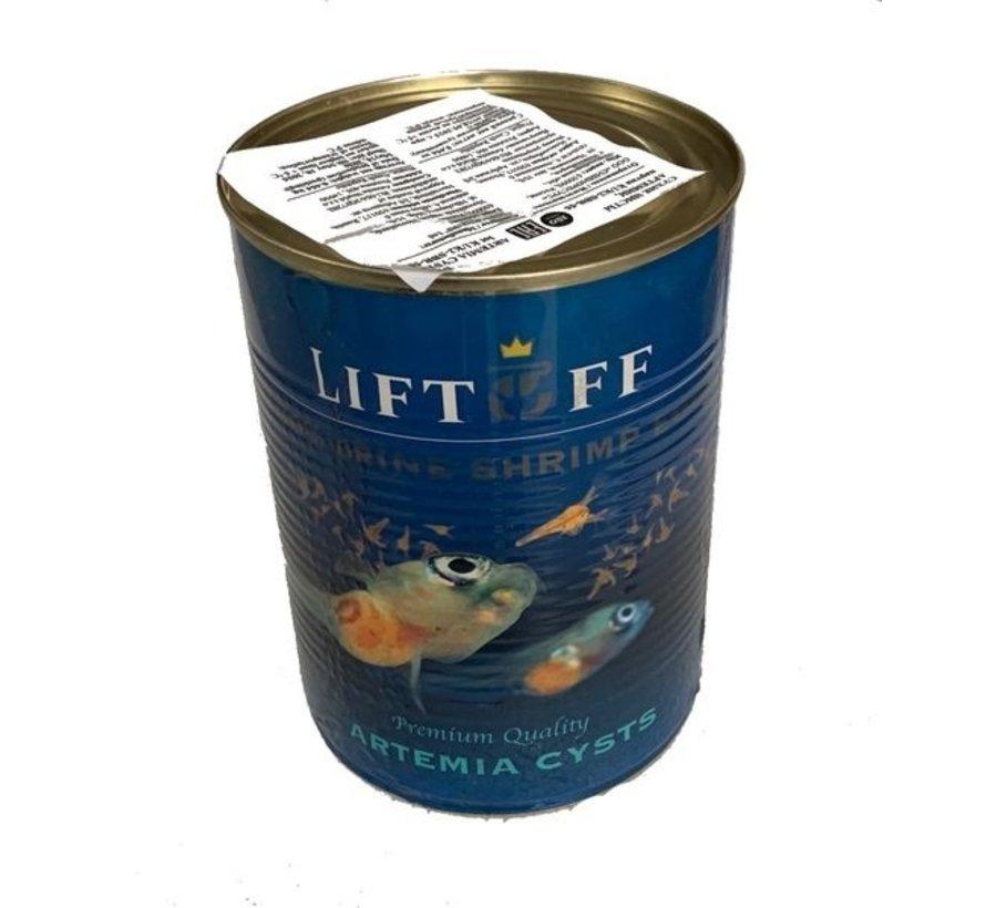 Artemia eieren LIFTOFF 85% 425g blik